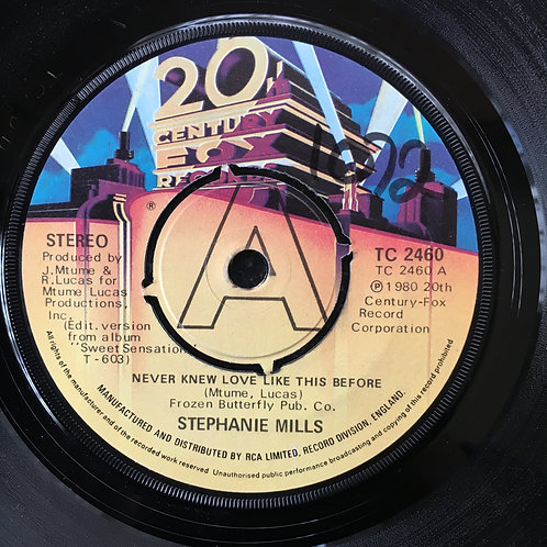 Stephanie Mills. 'Never Knew Love Like This'