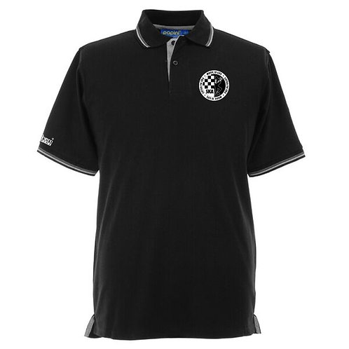 Ska Polo Shirt Black/Grey