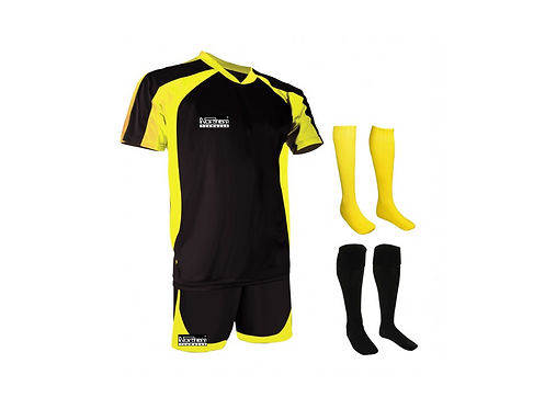 Teamwear Training Kit Black/Yellow