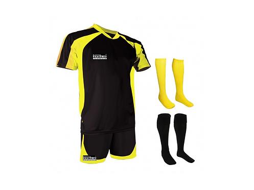 Teamwear Training Kit Black/Yellow