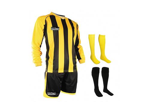 Teamwear Striped kit Yellow/Black