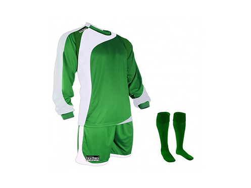 Teamwear Champions kit Green/White