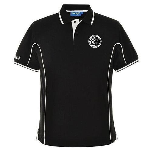 Ska Polo Shirt Black/White Tip