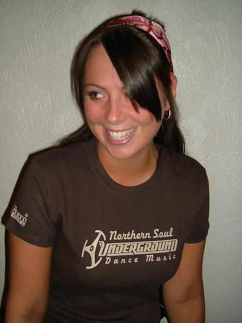 Underground Dance Music Ladies T-Shirt