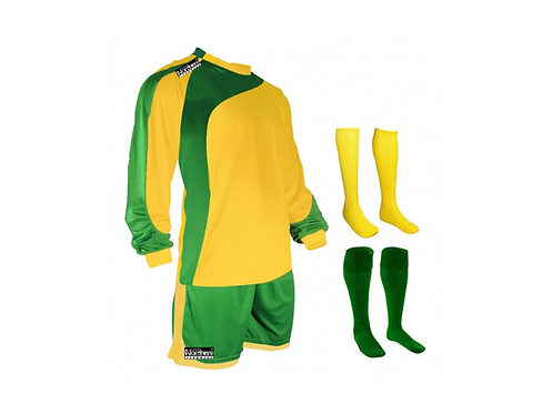Teamwear Champions kit Yellow/Green