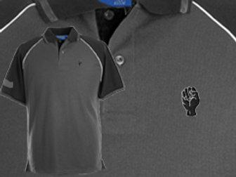 Discreet Fist Polo Dark Grey/Blk
