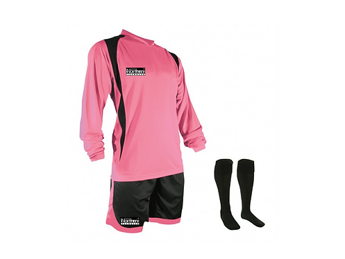 Teamwear League Kit Pink/Black