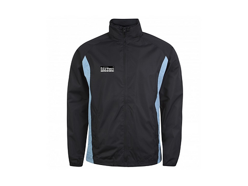 Teamwear League Rain Full Zip Jacket Navy/Sky