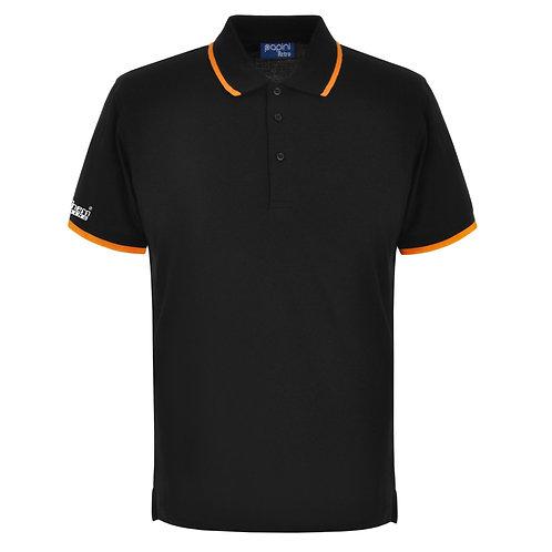 Bespoke Retro Black/Orange Polo