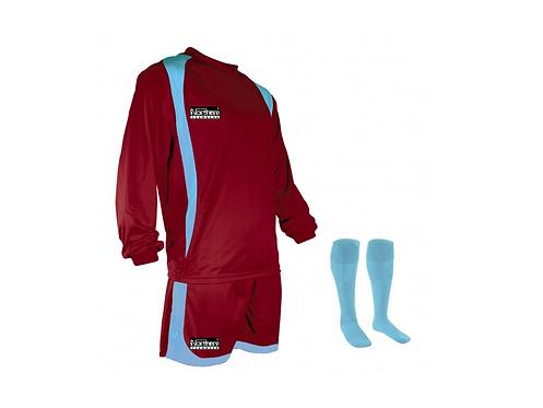 Teamwear League Kit Claret/Sky