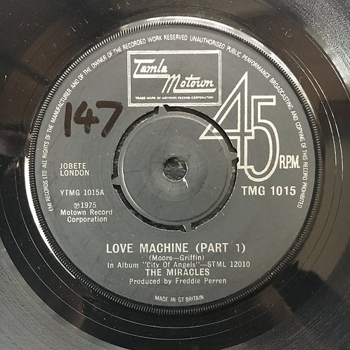The Miracles. 'Love Machine' (Part 1)