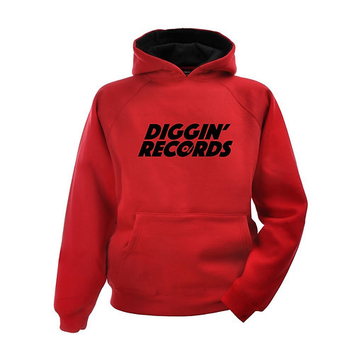 Diggin' Records Hoodies Click For Colours
