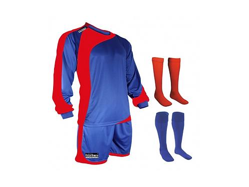Teamwear Champions kit Royal/Red