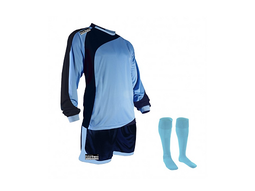 Teamwear Champions kit Sky/Navy