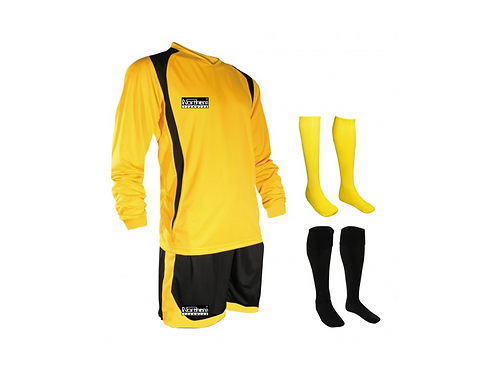 Teamwear League Kit Yellow/Black