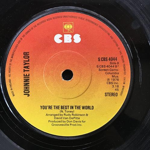 Johnnie Taylor. 'Disco Lady'