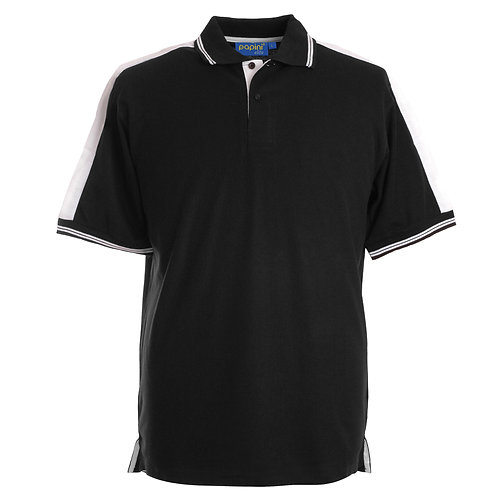 Elite Black-White Polo Shirt
