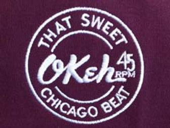 Original Large Logo Okeh Burgandy