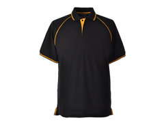 Elite Black-Gold Polo Shirt