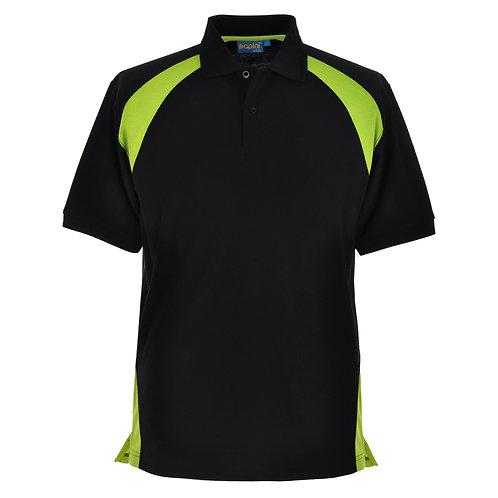 Elite Black-Lime Polo Shirt