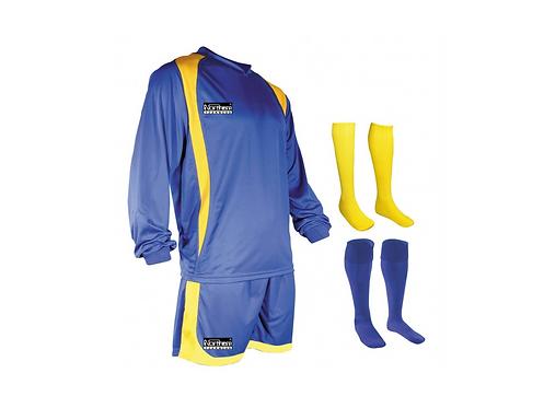 Teamwear League Kit Royal/Yellow