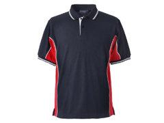 Elite Navy-Red-White Polo Shirt