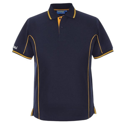 Special Offer Bespoke Navy/Gold Torch Polo