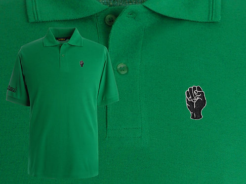 Discreet Fist Polo Emerald