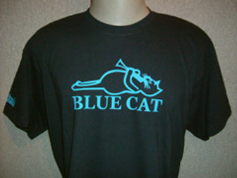 Blue Cat Mens T
