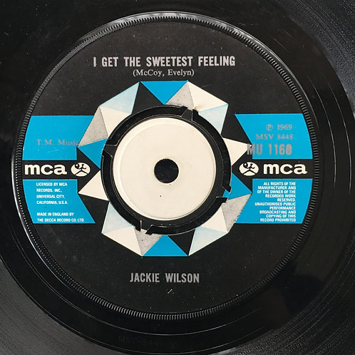 Jackie Wilson. 'I Get The Sweetest Feeling'