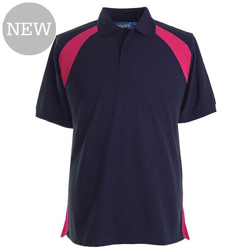 Elite Navy-Fuchia Polo Shirt
