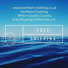 Northern Clothing Free shipping advert