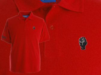 Discreet Fist Polo Red