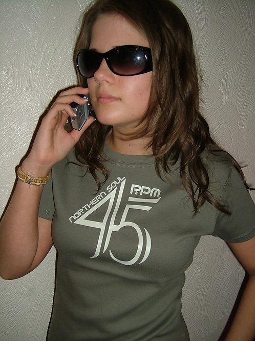 45RPM Ladies T-Shirt