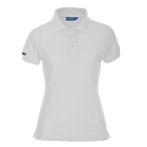 Ladies White Bespoke Polo's