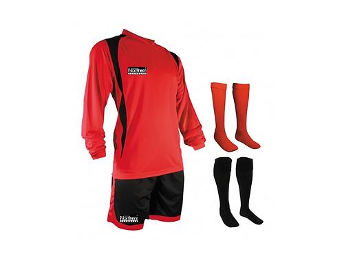 Teamwear League Kit Red/Black