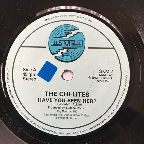 The Chi-lites. 'Have You Seen Her?'