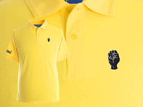 Discreet Fist Polo Canary