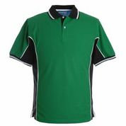 Elite Emerald-Black-White Polo Shirt