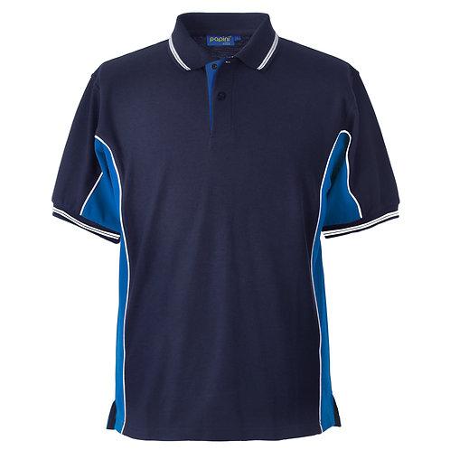 Elite Navy-Royal-White Polo Shirt