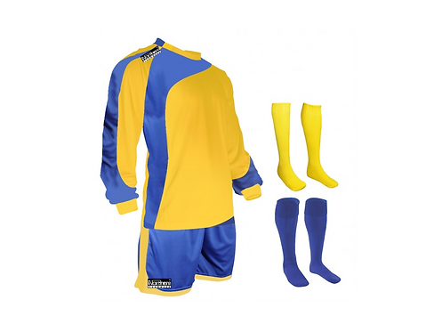 Teamwear Champions kit Yellow/Royal