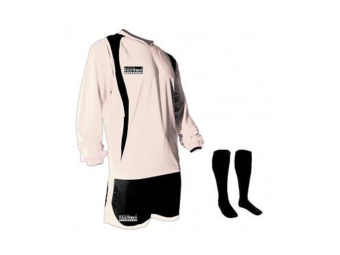 Teamwear League Kit White/Black