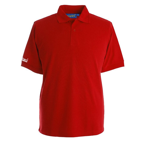 Bespoke Red Polo