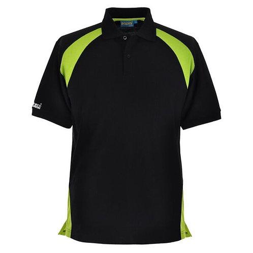 Bespoke Black/Lime Polo