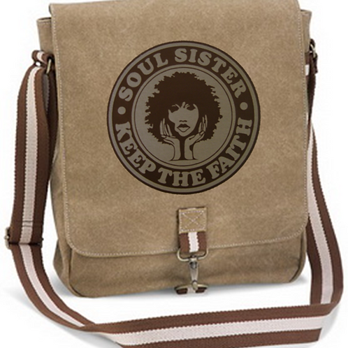 Soul Sister Canvas Bag