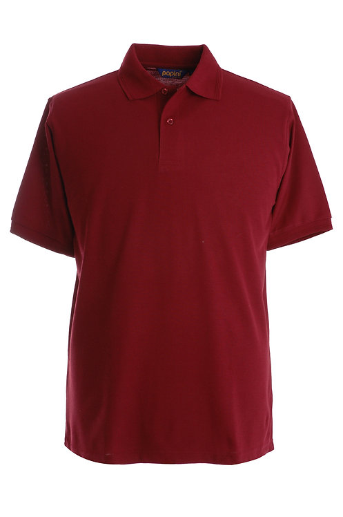 Wine Polo Shirt From