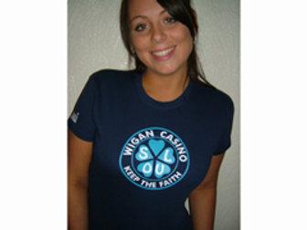 Wigan Casino Ladies T-Shirt