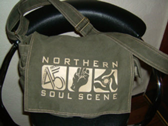 Triple Soul Canvas Shoulder Bag