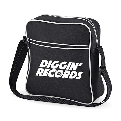 Diggin' Records Black Flight Bag
