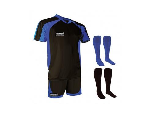 Teamwear Training Kit Black/Royal